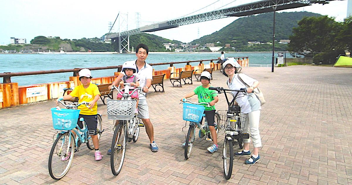 天野さん家族 自転車旅行