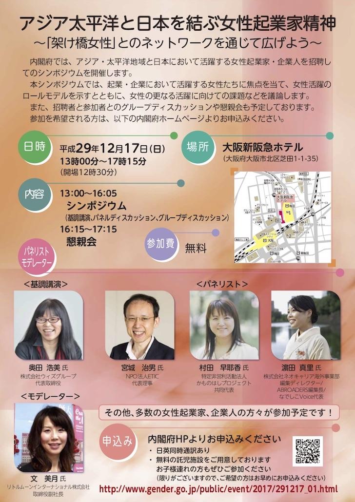 太平洋と日本を結ぶ女性起業家精神