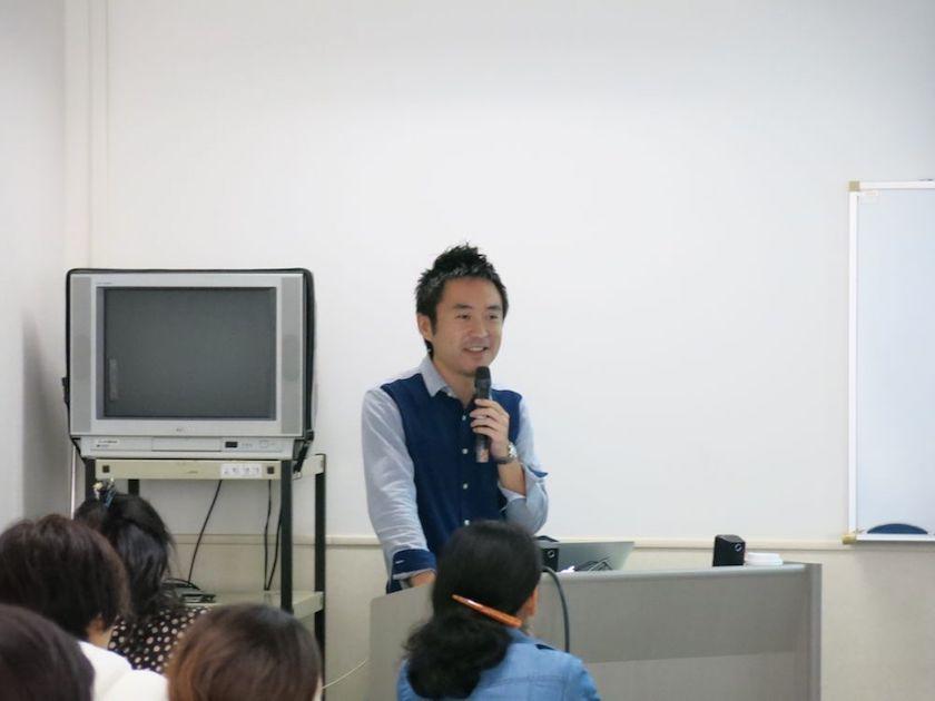 講師の菊池さん