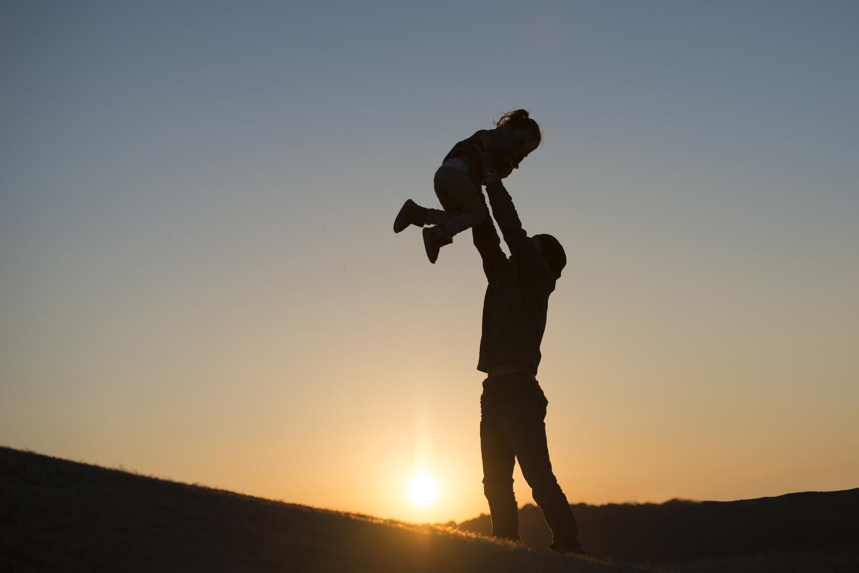 遊び父と娘