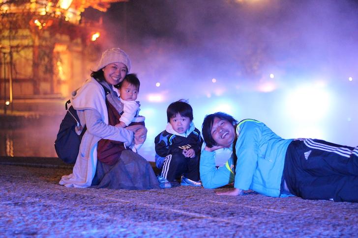 阿川さん家族