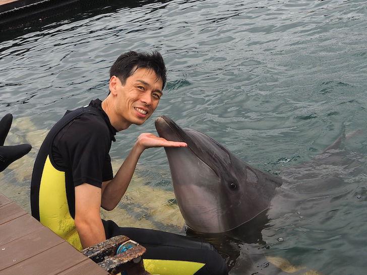 宮本さんとイルカ
