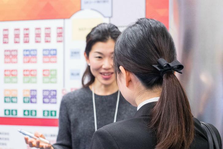 女子学生へのインタビュー