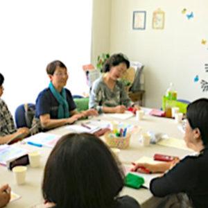女性のための防災サロンの風景