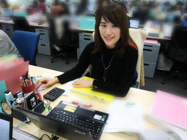 三井住友海上火災保険の女性社員