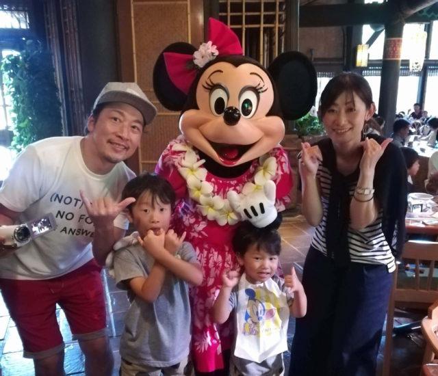 日本生命女性社員とその家族