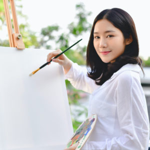 Artist Beautiful girl