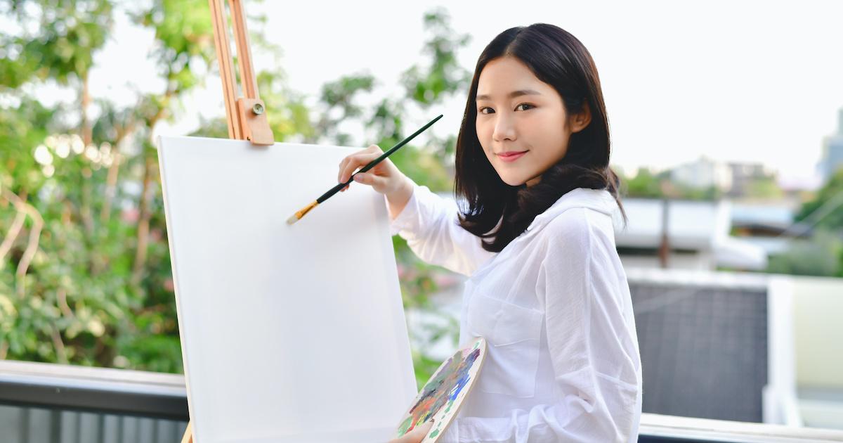 Artist Beautiful girl